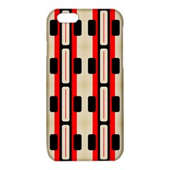 Rectangles and stripes pattern 			iPhone 6/6S TPU Case