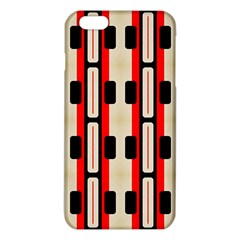 Rectangles and stripes pattern iPhone 6 Plus/6S Plus TPU Case
