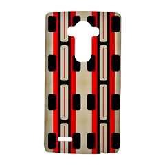 Rectangles and stripes pattern 			LG G4 Hardshell Case