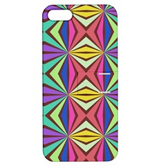Connected Shapes In Retro Colors  			apple Iphone 5 Hardshell Case With Stand