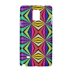 Connected Shapes In Retro Colors  			samsung Galaxy Note 4 Hardshell Case