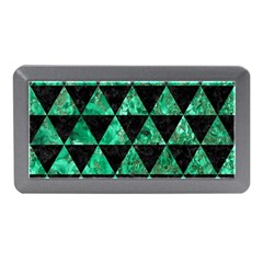 Triangle3 Black Marble & Green Marble Memory Card Reader (mini)