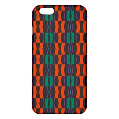 Green orange shapes pattern 			iPhone 6 Plus/6S Plus TPU Case