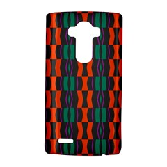 Green orange shapes pattern 			LG G4 Hardshell Case