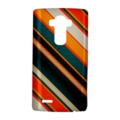 Diagonal Stripes In Retro Colors 			lg G4 Hardshell Case