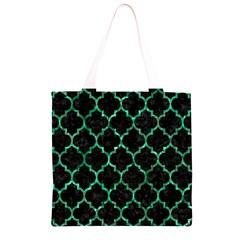 TIL1 BK-GR MARBLE (R) Grocery Light Tote Bag