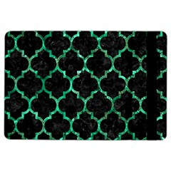 Tile1 Black Marble & Green Marble (r) Apple Ipad Air 2 Flip Case