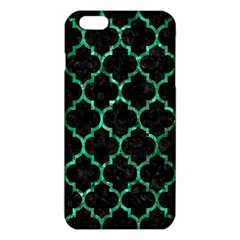 Tile1 Black Marble & Green Marble (r) Iphone 6 Plus/6s Plus Tpu Case