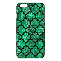 Tile1 Black Marble & Green Marble Iphone 6 Plus/6s Plus Tpu Case