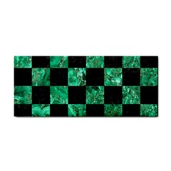 Square1 Black Marble & Green Marble Hand Towel