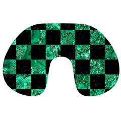 Square1 Black Marble & Green Marble Travel Neck Pillow