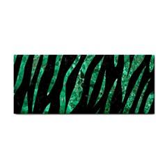 Skin3 Black Marble & Green Marble (r) Hand Towel