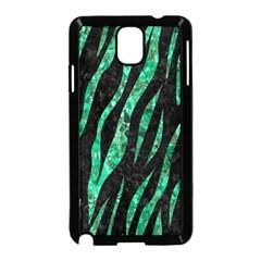 Skin3 Black Marble & Green Marble (r) Samsung Galaxy Note 3 Neo Hardshell Case (black)