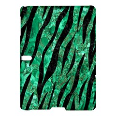 Skin3 Black Marble & Green Marble Samsung Galaxy Tab S (10 5 ) Hardshell Case