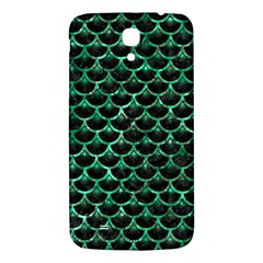 Scales3 Black Marble & Green Marble (r) Samsung Galaxy Mega I9200 Hardshell Back Case