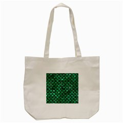 Scales3 Black Marble & Green Marble Tote Bag (cream)