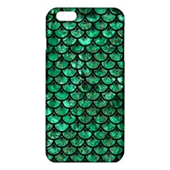 Scales3 Black Marble & Green Marble Iphone 6 Plus/6s Plus Tpu Case