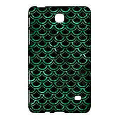 Scales2 Black Marble & Green Marble (r) Samsung Galaxy Tab 4 (7 ) Hardshell Case