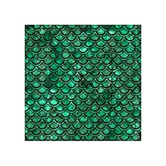 Scales2 Black Marble & Green Marble Acrylic Tangram Puzzle (4  X 4 )