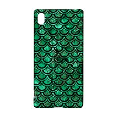 Scales2 Black Marble & Green Marble Sony Xperia Z3+ Hardshell Case