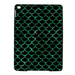Scales1 Black Marble & Green Marble (r) Apple Ipad Air 2 Hardshell Case