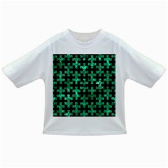 Puzzle1 Black Marble & Green Marble Infant/toddler T Shirt