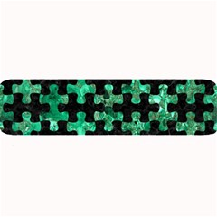 Puzzle1 Black Marble & Green Marble Large Bar Mat