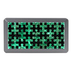 Puzzle1 Black Marble & Green Marble Memory Card Reader (mini)