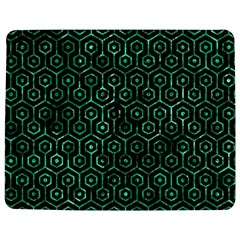 Hexagon1 Black Marble & Green Marble (r) Jigsaw Puzzle Photo Stand (rectangular)