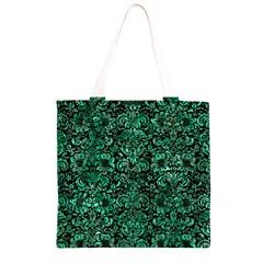 DMS2 BK-GR MARBLE (R) Grocery Light Tote Bag