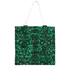 DMS2 BK-GR MARBLE Grocery Light Tote Bag