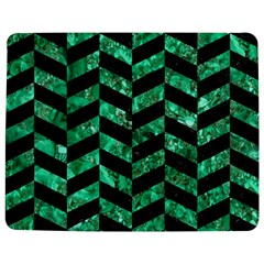 Chevron1 Black Marble & Green Marble Jigsaw Puzzle Photo Stand (rectangular)