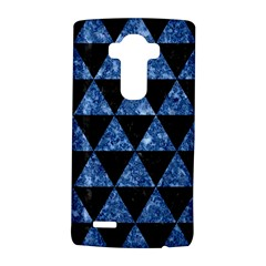 Triangle3 Black Marble & Blue Marble Lg G4 Hardshell Case