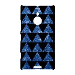 Triangle2 Black Marble & Blue Marble Nokia Lumia 1520 Hardshell Case