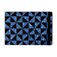 Triangle1 Black Marble & Blue Marble Apple Ipad Mini 2 Flip Case