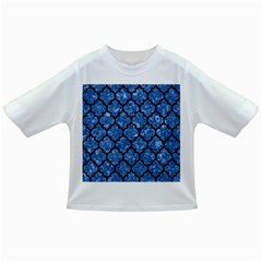 Tile1 Black Marble & Blue Marble Infant/toddler T Shirt