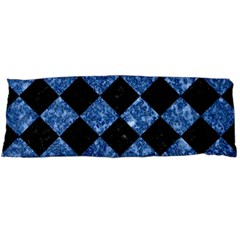 Square2 Black Marble & Blue Marble Body Pillow Case Dakimakura (two Sides)