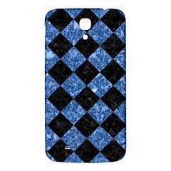 Square2 Black Marble & Blue Marble Samsung Galaxy Mega I9200 Hardshell Back Case