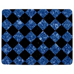 Square2 Black Marble & Blue Marble Jigsaw Puzzle Photo Stand (rectangular)