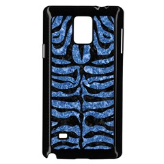 Skin2 Black Marble & Blue Marble Samsung Galaxy Note 4 Case (black)