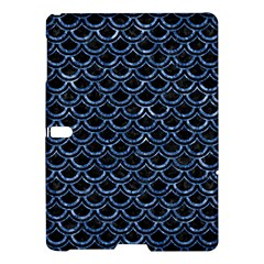 Scales2 Black Marble & Blue Marble (r) Samsung Galaxy Tab S (10 5 ) Hardshell Case
