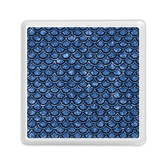Scales2 Black Marble & Blue Marble Memory Card Reader (square)