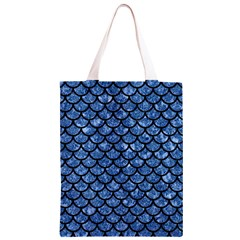 SCA1 BK-BL MARBLE Classic Light Tote Bag