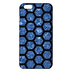 HXG2 BK-BL MARBLE iPhone 6 Plus/6S Plus TPU Case