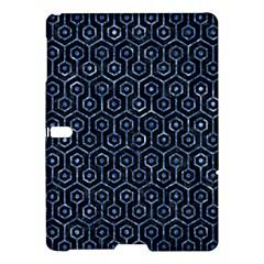 Hexagon1 Black Marble & Blue Marble (r) Samsung Galaxy Tab S (10 5 ) Hardshell Case