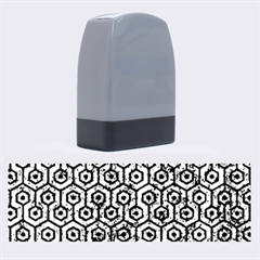 HXG1 BK-BL MARBLE Name Stamps