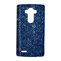 Hexagon1 Black Marble & Blue Marble Lg G4 Hardshell Case