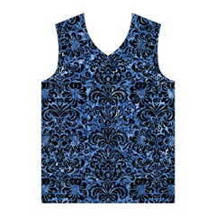 DMS2 BK-BL MARBLE Men s Basketball Tank Top