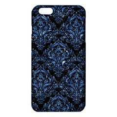 Damask1 Black Marble & Blue Marble Iphone 6 Plus/6s Plus Tpu Case