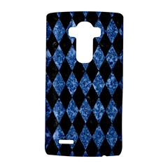 Diamond1 Black Marble & Blue Marble Lg G4 Hardshell Case